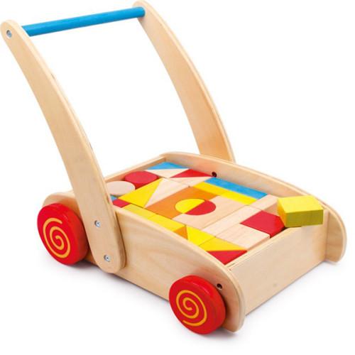 carrello primi passi con costruzioni