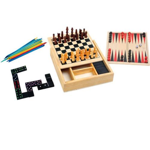 giochi da tavola 5 in 1