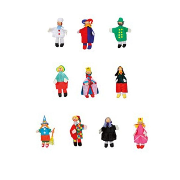 Giocoloco - 10 marionette